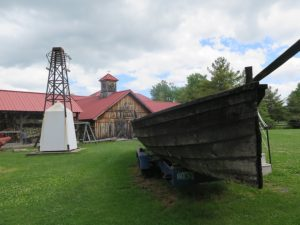 Lake Champlain Museum offers engaging exhibits, an archeological laboratory, and various buildings to explore over a four-acre lakeside campus © 2016 Karen Rubin/news-photos-features.com