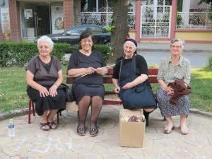 Ladies, Korca, Albania © 2016 Karen Rubin/goingplacesfarandnear.com