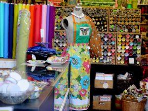 Fabric store in Pittsburgh's Strip District © 2016 Karen Rubin/goingplacesfarandnear.com