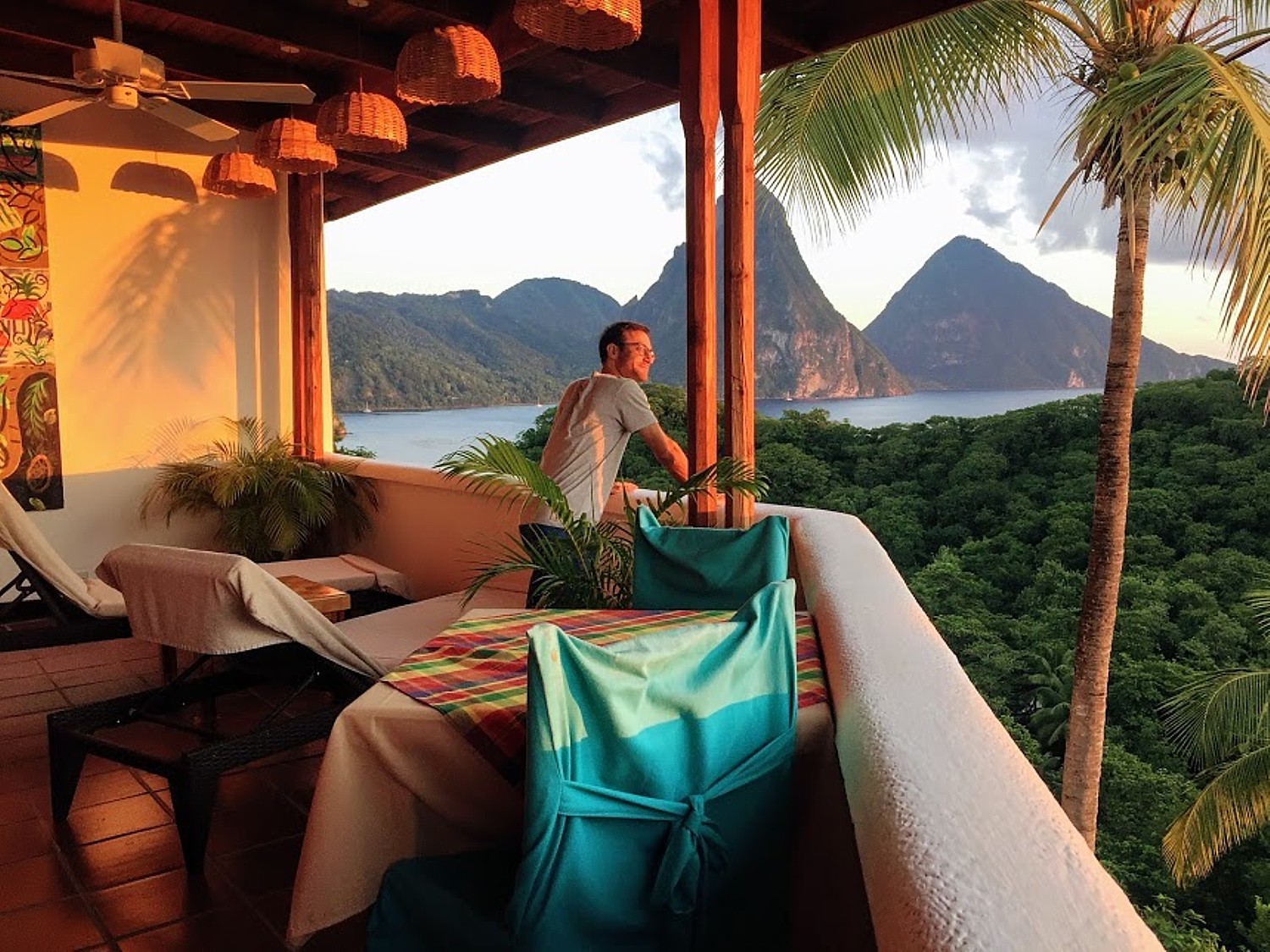 Honeymoon in Paradise: Anse Chastanet in Saint Lucia