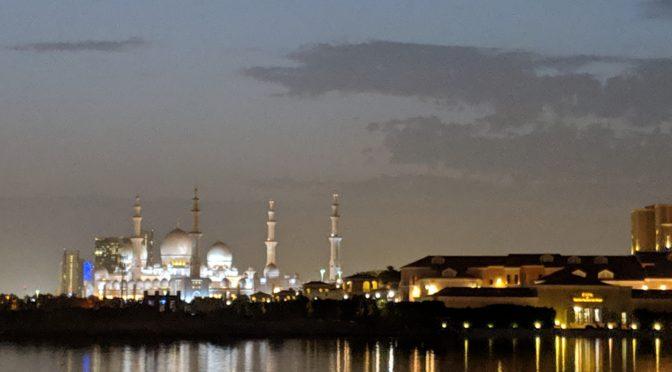 Global Scavenger Hunt: Searching Abu Dhabi