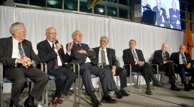 Apollo Astronauts Look Back During Gala at Long Island's Cradle of Aviation Museum Marking 50th Anniversary of Lunar Landing