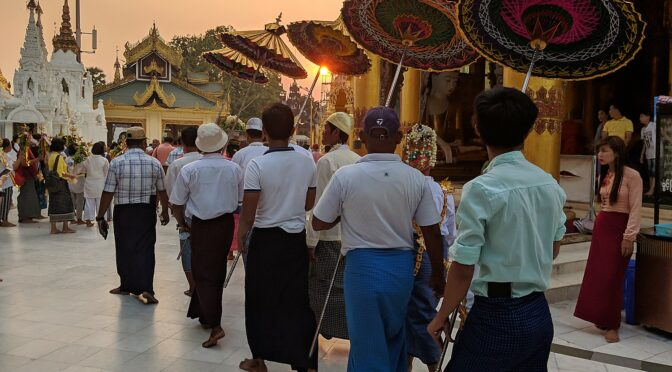 Global Scavenger Hunt, Leg 3: Back in Yangon, Myanmar