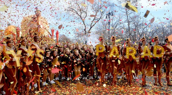 Photo Highlights of 93rd Edition of Macy's Thanksgiving Parade