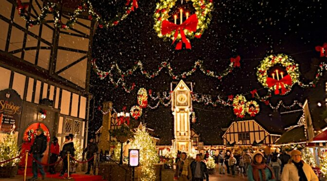 Favorite Places to Go to be Immersed in Holiday Spirit