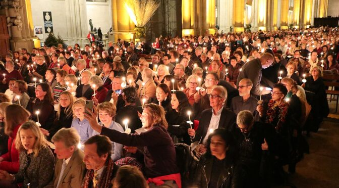 Cathedral Church of Saint John the Divine Welcomes New Year 2020, New Decade with Concert for Peace