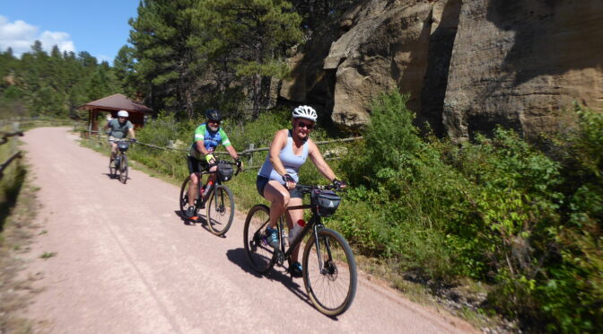 Badlands, Black Hills & Mickelson Trail Bike Tour Offers Unexpected Experience on Guest Ranch