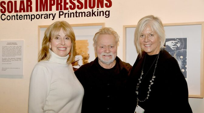 'Solar Impressions'  Exhibit at Gold Coast Arts Center Features Innovative 'Solarplate' Etching Process, Workshop