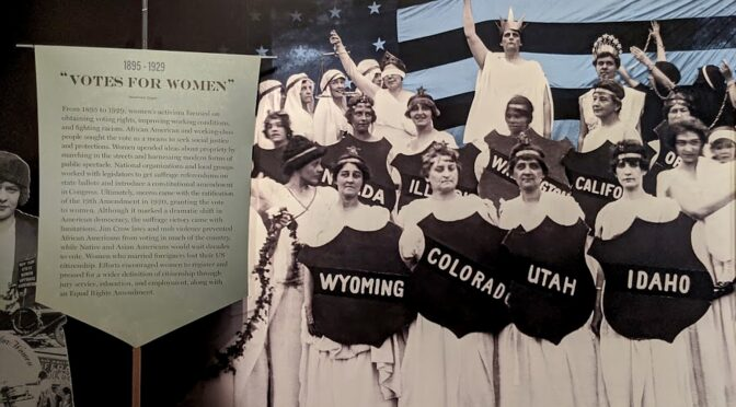 Many Pathways to Mark Centennial of Women's Suffrage
