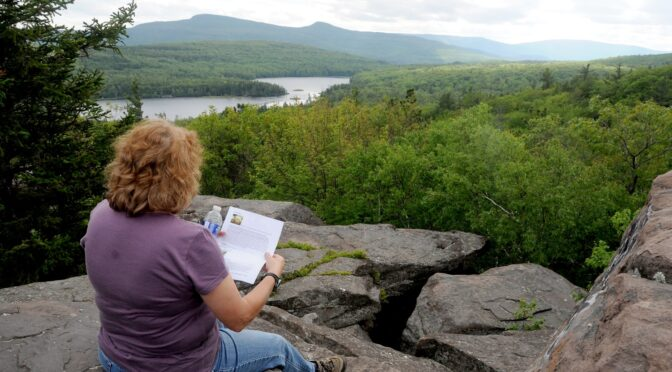 Driveable Getaways:  Hiking the Hudson River School Art Trail in the Great Northern Catskills