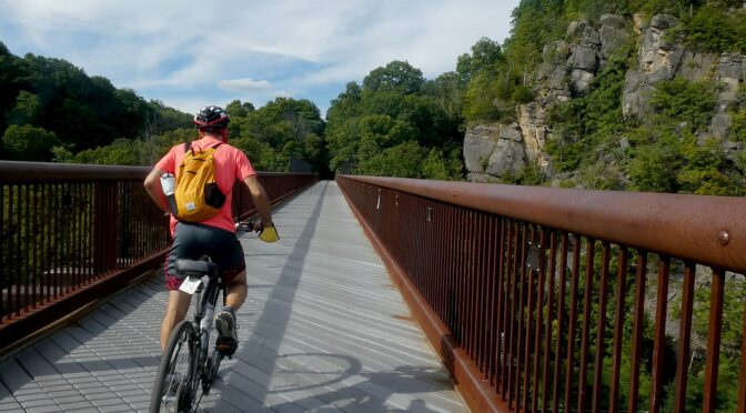 New York's Empire State Trail Comes Together: Biking the Wallkill Valley Rail Trail in Hudson Valley