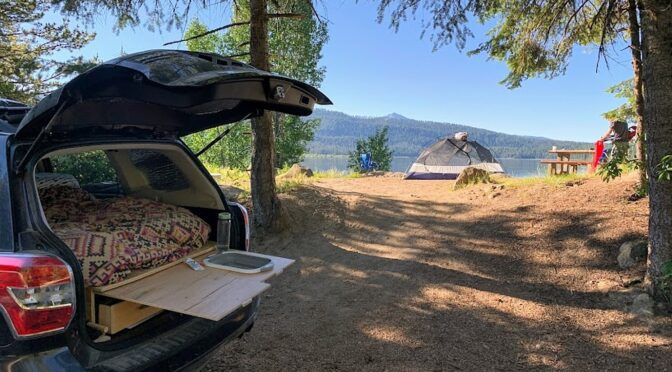 Car Camping in Comfort: How We Turned our Subaru into Our Home On the Road