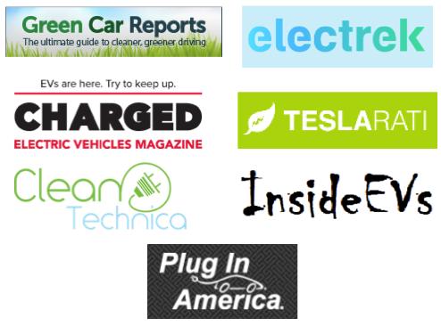 Top Electric Vehicle (EV) Websites & Blogs