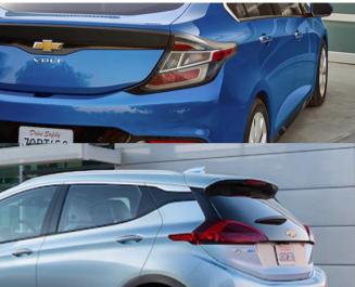 Chevrolet Volt and Bolt