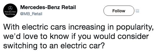 Did Mercedes-Benz Just Get Schooled in Social Media By EV and Tesla Fans?