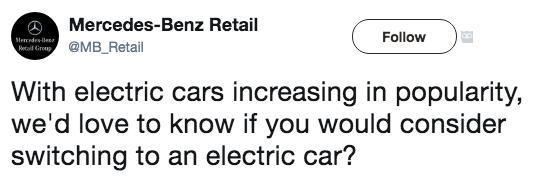 Did Mercedes-Benz Just Get Schooled in Social Media By EV and Tesla Fans?