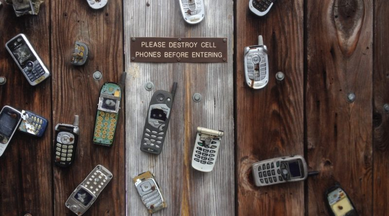 cell phones please destroy