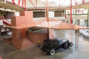 Frank Lloyd Wright design gas station