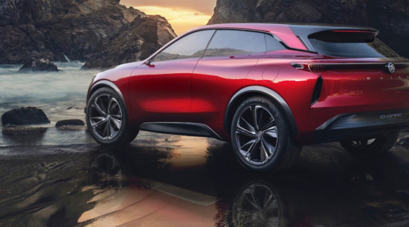 Buick - China - Enspire crossover concept