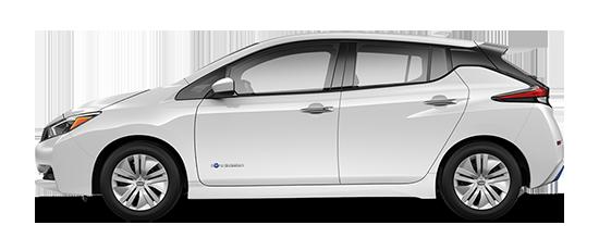 Nissan LEAF - 2018 - side view-550x230