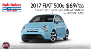 Fiat lease deal 2017 $60 per month
