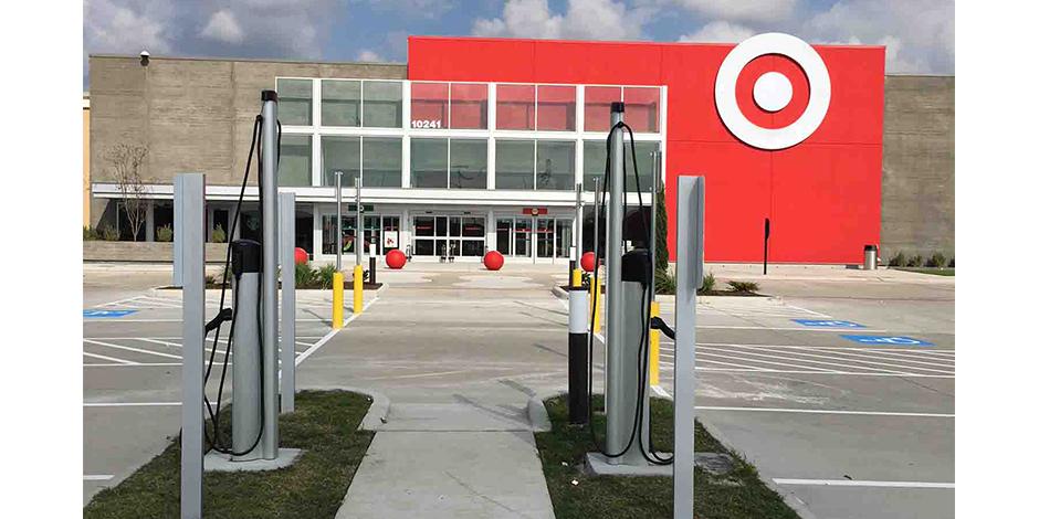Target EV Charging Stations
