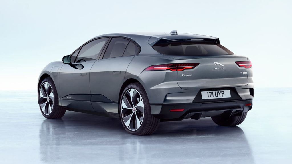 Jaguar I-PACE - side-rear