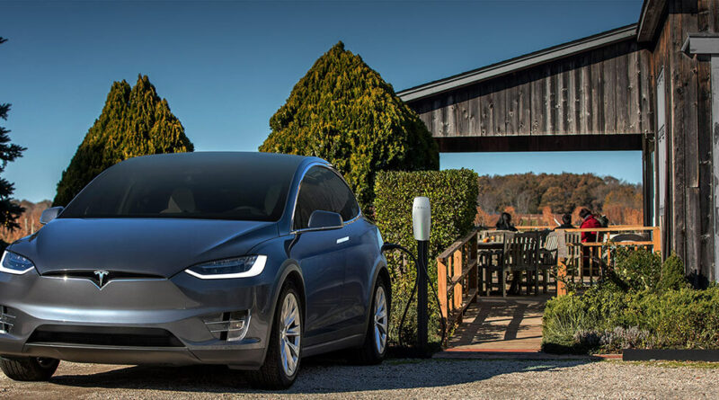 Tesla Destination charger - site image