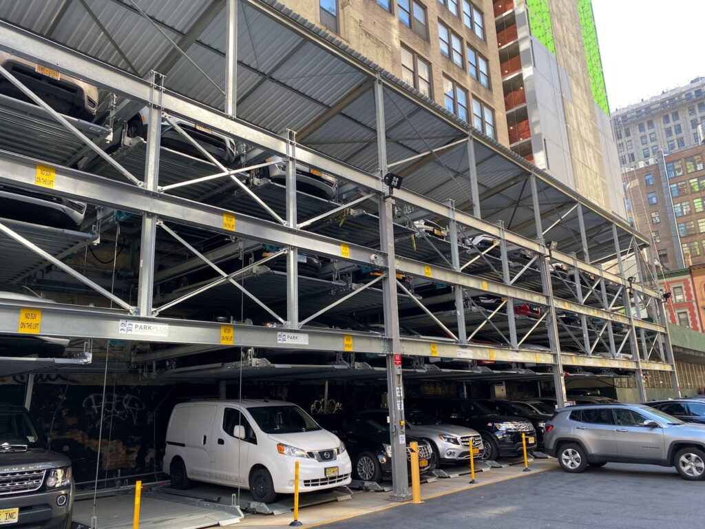 New York parking lifts