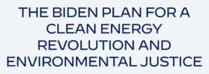 The Biden Plan for a Clean Energy Revolution