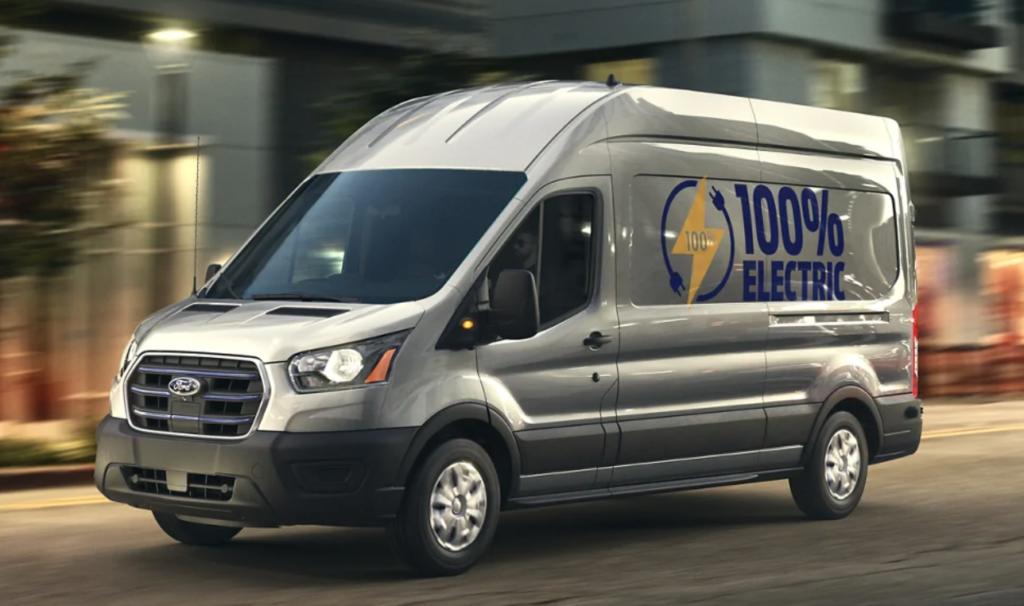 Ford 2022 E-Transit-BEV