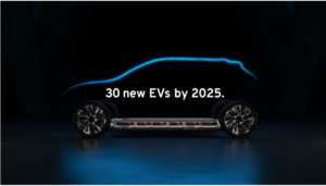 GM 30 new EVs by 2025