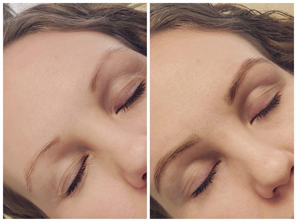 Eyebrow Microblading with Amanda Hunt.