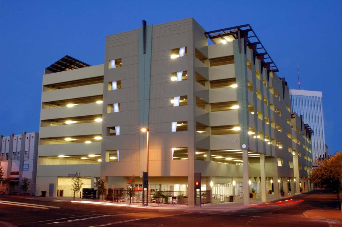 Downtown Tucson Parking Lot