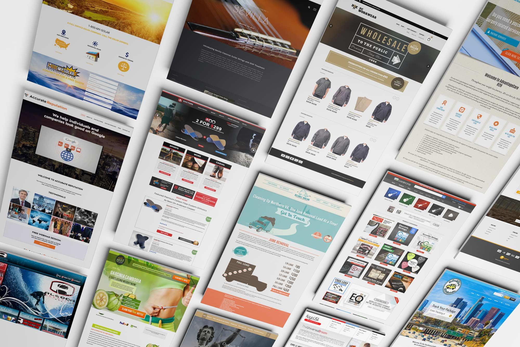 Website Designs by Andy Garza