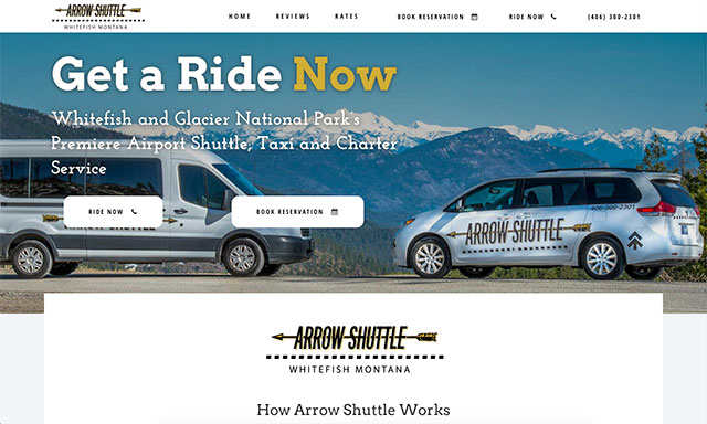 Arrow Shuttle Taxi - Whitefish, MT