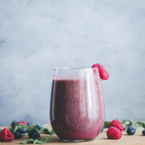Healthy Berry Smoothie