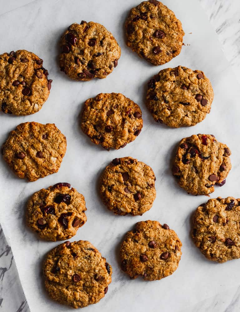 oatmeal cranberry chocolate chip cookie recipe