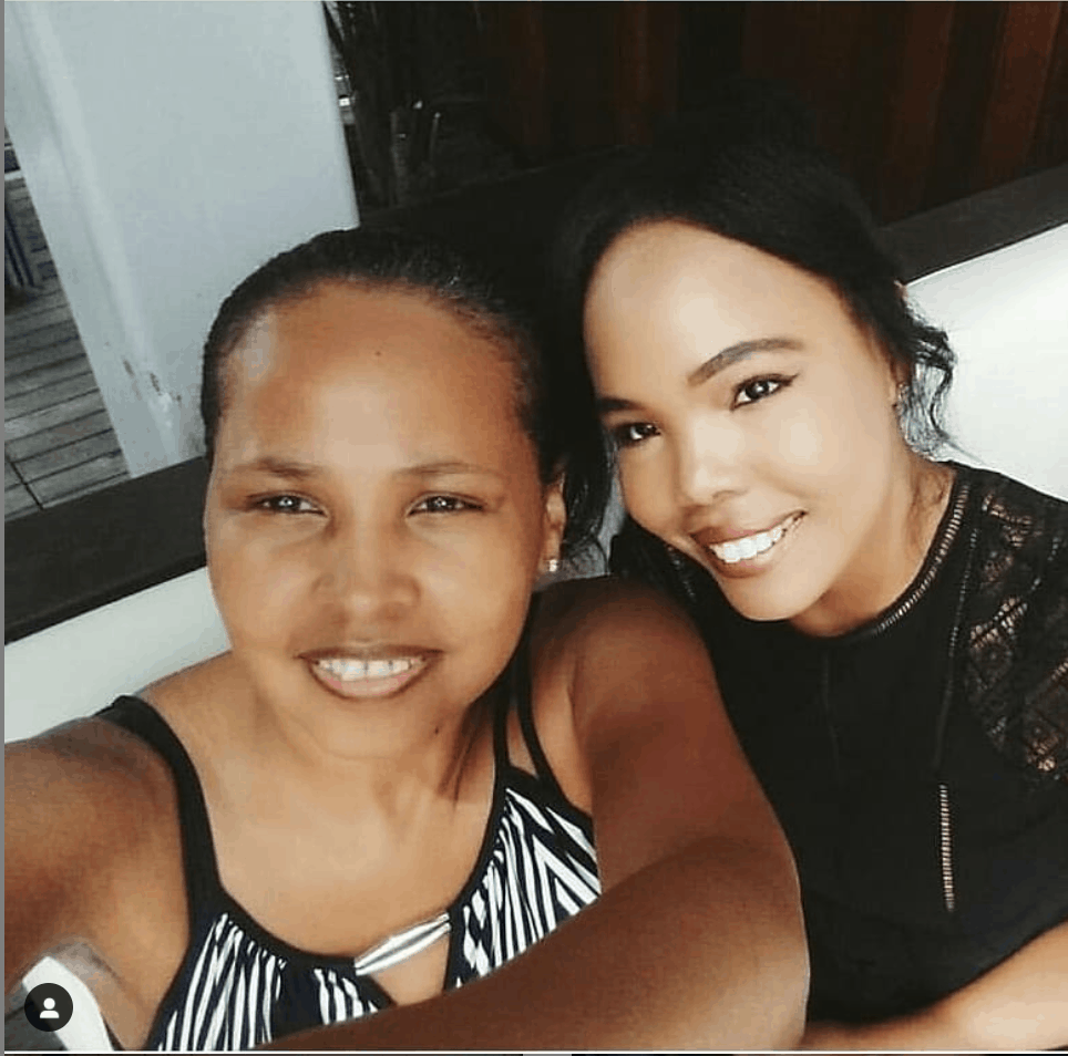 Shana Thomas, founder of im-worthy.com shares mothers day gift ideas. Black mother and daughter duo