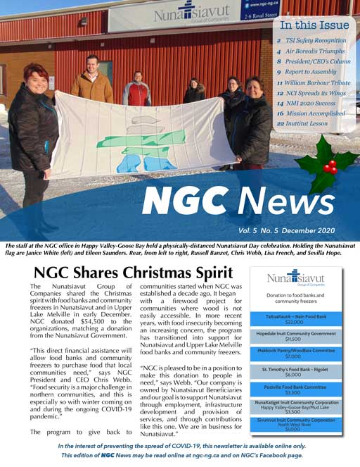 READ THE LATEST NGC NEWSLETTER – VOL. 5, #5