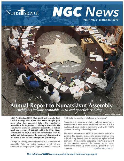 Read the latest NGC newsletter – VOL. 4, #2