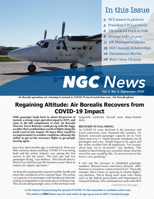 Read the latest NGC Newsletter – VOL. 5, #4
