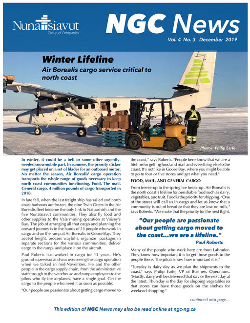 Read the latest NGC newsletter – VOL. 4, #3
