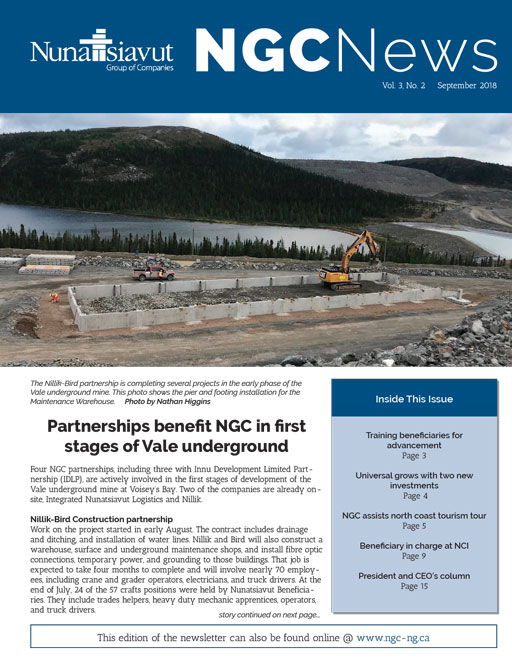 Read the latest NGC Newsletter – Vol. 3, #2