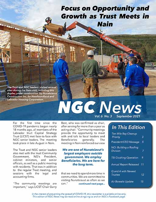 READ THE LATEST NGC NEWSLETTER – VOL. 6, #3
