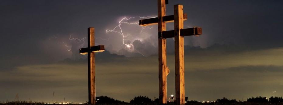 New Crosses for Sunrise Service a Hugh Success
