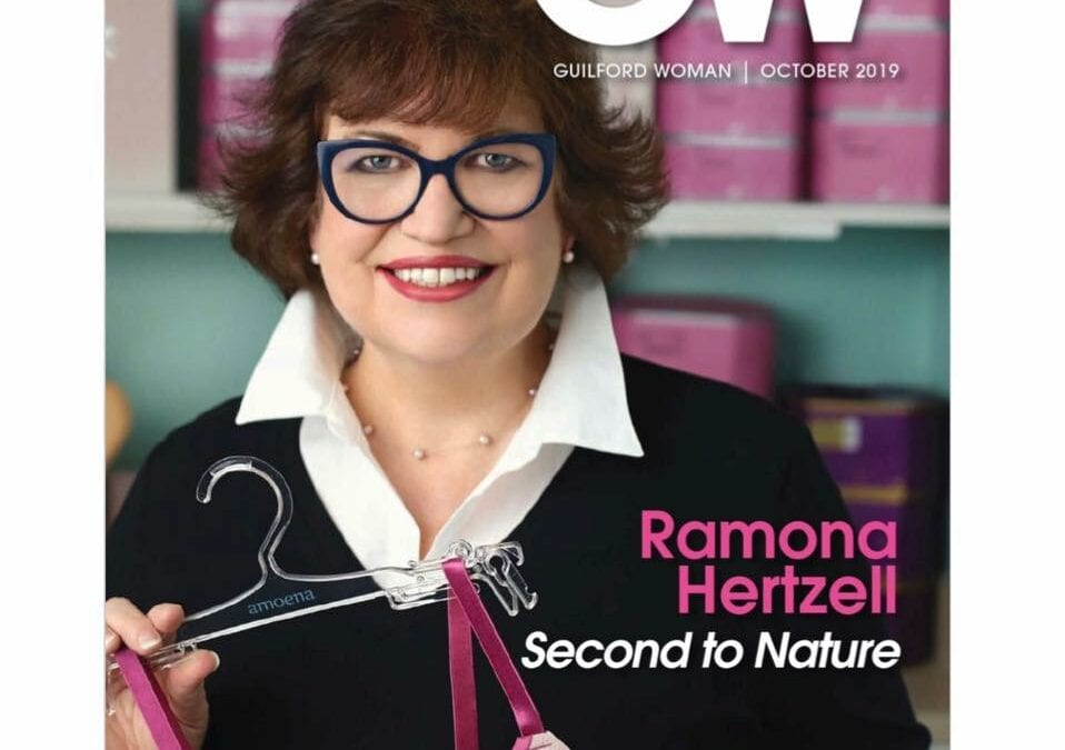 Guilford Woman features Second to Nature