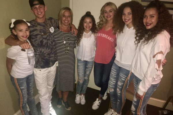 With Matty B and the Haschak Sisters
