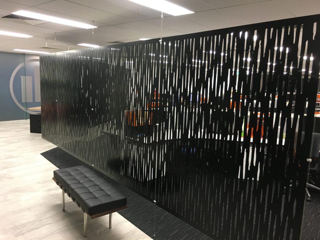 Aluminium suspended wall screens 8