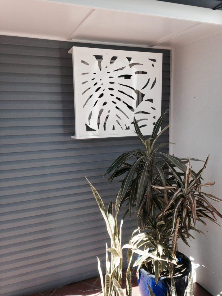 custom made decorative screen Panama design